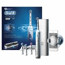 ORAL B GENIUS 9000 WHITE ELECTRIC TOOTHBRUSH WITH BLUETOOTH! BRAND NEW