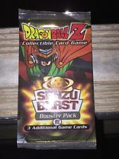Dragonball Z Collectible Card Game Senzu Blast Booster Pack.