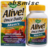 Nature's Way, Alive! Once Daily, Men's Multi-Vitamin, Ultra Potency - 60 Tablets