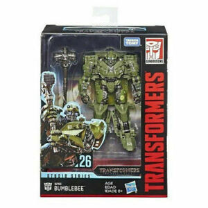 Hasbro Transformers Studio Series 26 WWII Bumblebee SS26 Deluxe Model Figure Toy