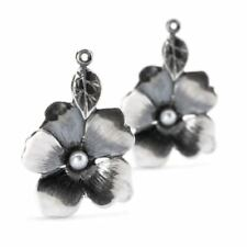 AUTHENTIC TROLLBEAD FLOWER FREEDOM EARRINGS TAGEA-00082
