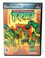 PlayStation 2 Teenage Mutant Ninja Turtles 2003 Black Label Complete and Tested!