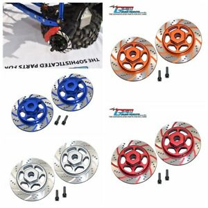 Alloy Hexagonal Simulation Brake Disc for Axial 1/10 RBX10 Ryft 4WD Accessories
