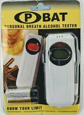 RoHS Electronic Personal Breath Alcohol Tester with Audible Alert LCD Display