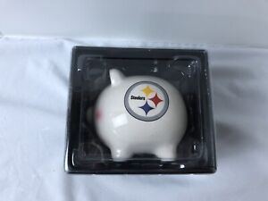 Pittsburgh Steelers Ceramic Piggy Bank NFL New Old Stock