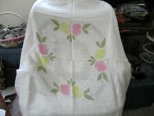 Beautiful Vintage Tablecloth 1960's 48 x 48 NEW REDUCED !!!!