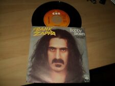 """Frank ZAPPA / Bobby brown - stick it out (1979) 7"""" SP classic rock !!!!"""