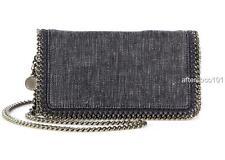 Stella McCartney Falabella denim shoulder bag clutch Crossbody New AUTHENTIC
