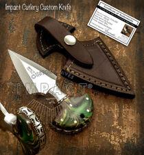 IMPACT CUTLERY RARE CUSTOM D2 FULL TANG KNIFE RESIN HANDLE