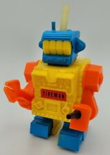 Vintage 1970's Toy Robot Topper Toys Ding-A-Lings Space Fireman