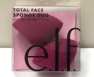 New e.l.f. ELF Total Face Sponge Duo #84135 Latex Free (L1)