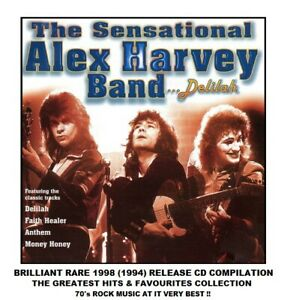 The Sensational Alex Harvey Band - Very Best Essential Greatest Hits - 70's CD