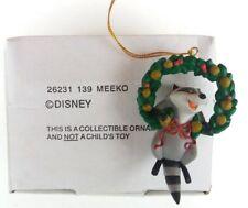 DISNEY MEEKO GROLIER CHRISTMAS TREE DECORATION ORNAMENT IN BOX VGC