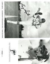 LARRY SEIPLE  MIAMI DOLPHINS SIGNED VERIZON PROMO  8X10 PHOTO
