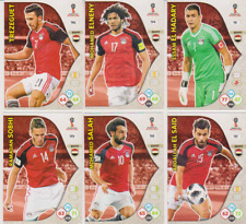 Panini Adrenalyn XL World Cup Russia 2018 Lot 6 cartes équipe EGYPTE