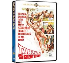 TARZAN AND THE GREAT RIVER (1967 Mike Henry) Region Free DVD - Sealed