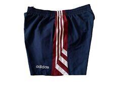 adidas vintage Shorts Gr. D8 L Sporthose 90s 90er kurze Sport Hose blau ZZ4
