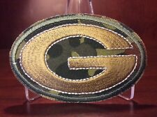 AWESOME DEAL On This New Camo HOT DEAL ON THE. G LOGO GREEN BAY PACKERS PATCH