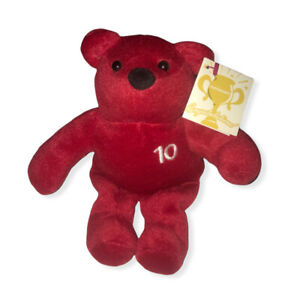 Nutrisystem 10lb Weight Loss NutriBear Red Teddy Bear Bean Plush