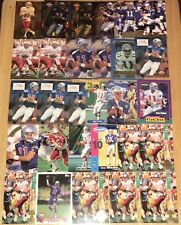 (29) DREW BLEDSOE FOOTBALL CARD LOT NICE! INSERTS WITH RC CARDS