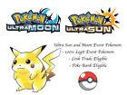 Pokemon Ultra Sun and Moon 2017 Tohoku Pikachu Japan Event Pokemon