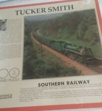 1993 FX Schmid Tucker Smith Southern Railway Train 600 Pieces Puzzle complete