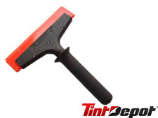 """Fusion Squeegee Handle 8"""" w/ orange crush blade To Push Water Out For Home Tint"""