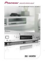 Pioneer DV-668AV-S Prospekt Datenblatt Datasheet Catalogue