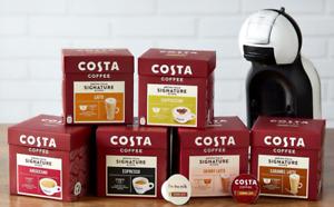New Dolce Gusto Compatibles by Costa Coffee Latte,Cappuccino,Americano,Espresso