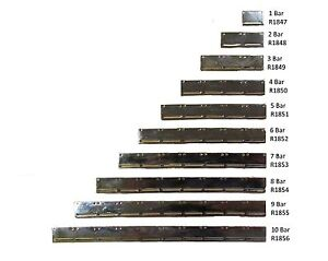 Miniature Medal Mounting Brooch Bars 1 Bar to 10 Bars Sold Single