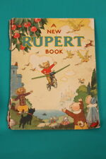 Original 1945 Annual 'A NEW RUPERT BOOK' - not clipped or coloured
