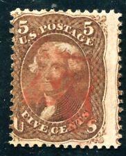 USA 1868 Scott 95 gestempelt WAFFEL 9X13mm SELTEN (Z3251