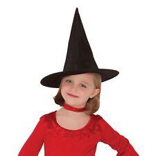 Children Kids Girls Boys Classic Black Witch Hat Magic Harry Witch Wizard