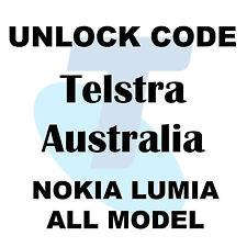 Telstra Australia  Code Nokia Lumia ,SONY SAMSUNG,HTC,MODERM ALL