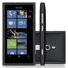 NOKIA  Lumia 800  Unlocked Smart Phone  Black  8MP 3G  1450mAh  3.7""