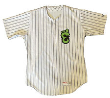 MiLB Eugene Emeralds Away Baseball Jersey #18 Chicago Cubs Affiliate Adult L 44