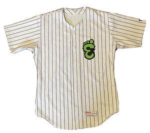 MiLB Eugene Emeralds Away Baseball Jersey #18 Chicago Cubs Affiliate Adult L 44