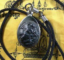 Real Leklai Thai Buddha Amulet Magic Necklace Pendant Stone Talisman Holy Power