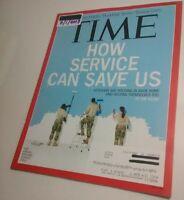 TIME Magazine [7/1/2013] U.S. Military Veterans Volunteer @Home, Near mint issue