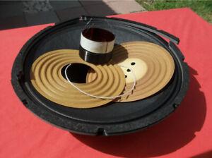 """15"""" Recone kit for (Original) Cerwin Vega Stroker 15 - Dual 2 Ohm Speaker Parts."""