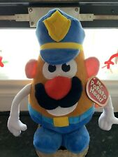 Official Licensed Mr Potato Head Soft Plush Toy. Policeman 30cm