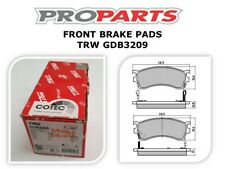 FRONT BRAKE PADS FOR FORD LASER KN KQ & MAZDA 323 ASTINA/PROTEGE - GDB3209