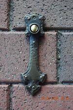 Craftsman Tudor style Doorbell Button Solid Brass door bell Waterglass Studios
