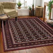Extra Large Non Slip Red Traditional Oriental Vintage 160 X 230 Cm Living Room