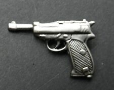 P38 Walther Special handgun Gun Weapon Hat Lapel Pin 1 inch