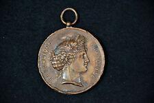 Medaille, Kupfer, Frankreich 1880, Boulogne sur Seine,
