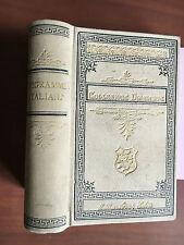 Epigrammi italiani Guido Mazzoni Barbera Ed 1896 - E21524