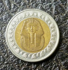 Egypt 2000's 1 Pound Bi-Metallic 'UNCLEANED' 'VF'.