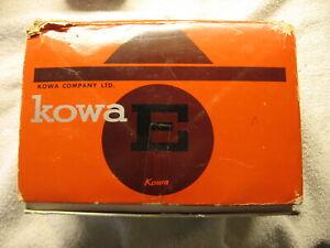 KOWA E CAMERA W/ACCESSORIES