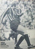GOAL football magazine retro A4 player picture poster Coventry City - VARIOUS